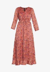 YAS Tall - YASCABANA LONG DRESS - Maxikleid - etruscan red - 4