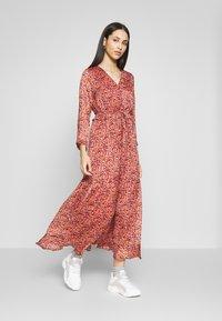 YAS Tall - YASCABANA LONG DRESS - Maxikleid - etruscan red - 1