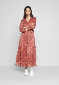 YAS Tall - YASCABANA LONG DRESS - Maxikleid - etruscan red - 0