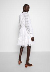 YAS Tall - YASSIA DRESS - Blusenkleid - star white - 2