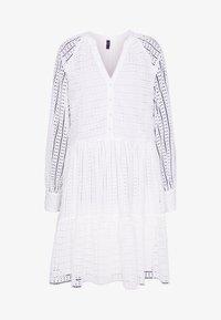 YAS Tall - YASSIA DRESS - Blusenkleid - star white - 3