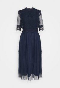 YAS Tall - YASSOPHIA MIDI DRESS - Vestido informal - navy blazer - 0