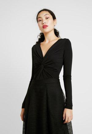 YASRIA - Bluzka z długim rękawem - black