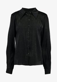 YAS Tall - YASFLUXO PARTY - Button-down blouse - black - 4
