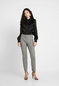 YAS Tall - YASFLUXO PARTY - Button-down blouse - black - 1