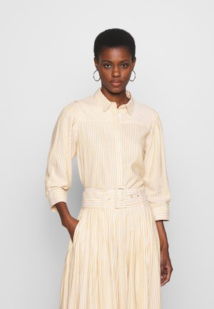 YASEMBER ICONS - Button-down blouse - golden rod/star white