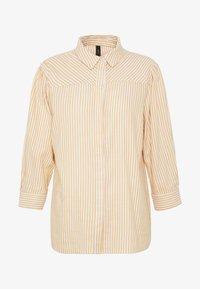 YAS Tall - YASEMBER ICONS - Skjorte - golden rod/star white - 4