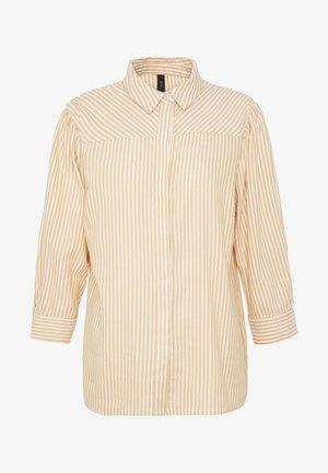 YASEMBER ICONS - Skjorte - golden rod/star white