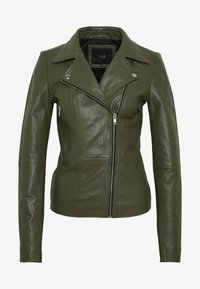 YAS Tall - YASSOPHIE JACKET - Leather jacket - beech - 5