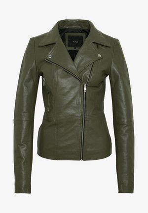 YASSOPHIE JACKET - Leather jacket - beech