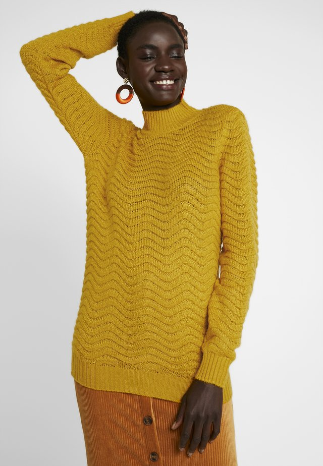 YASBRENTRICE - Strickpullover - golden yellow