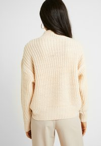 YAS Tall - YASCHUNKY LS  - Svetr - mother of pearl - 2
