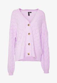 YAS Tall - YASDUFFY - Cardigan - pastel lilac - 3