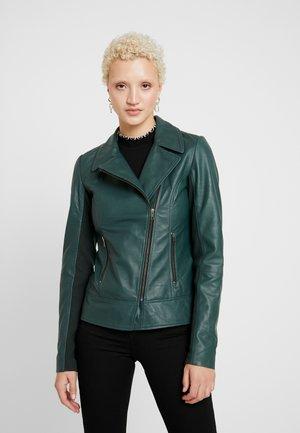 YASOLIVE JACKET - Leather jacket - ponderosa pine