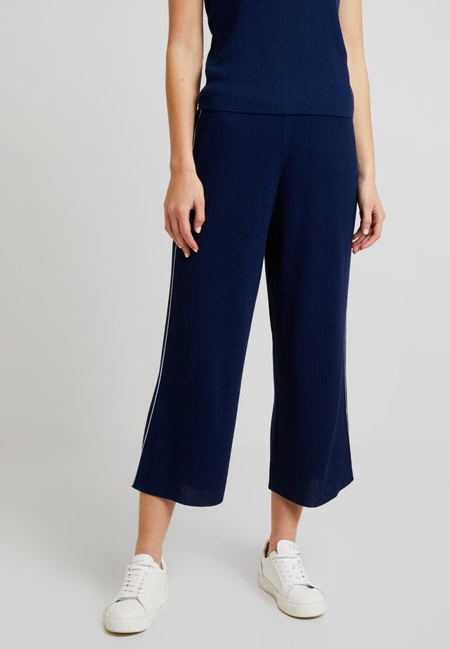 TROUSER - Trousers - saks blue