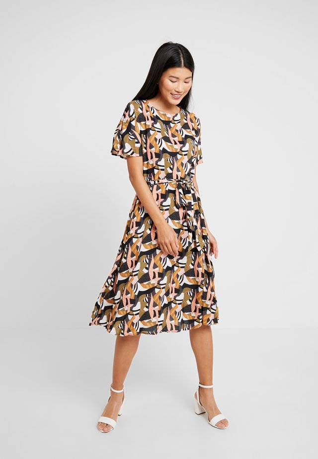 MIDI PATTERNED DRESS - Kjole - multi color