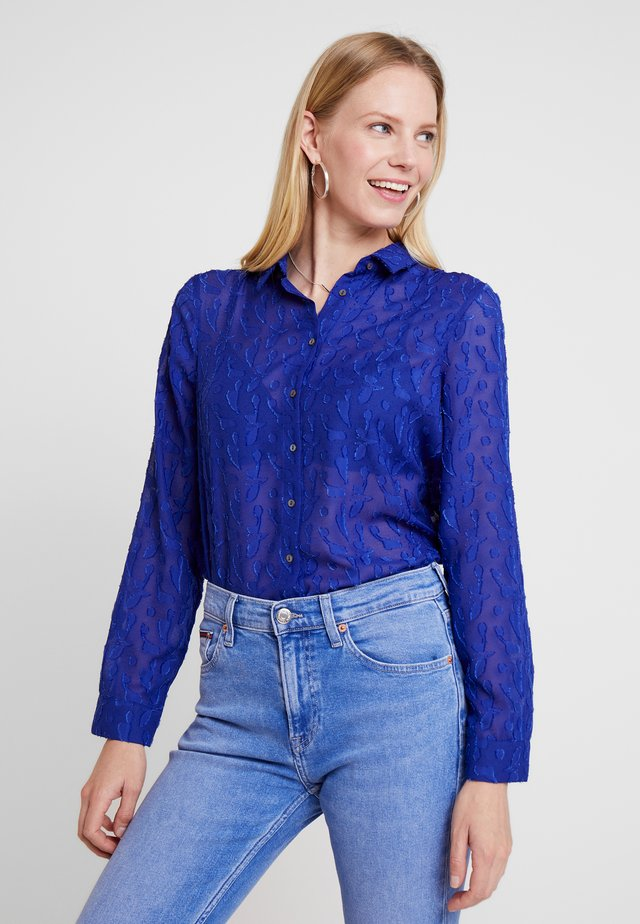 CLASSIC - Blouse - saks blue