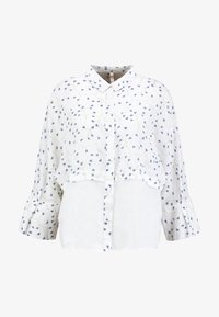 Yargici - CUFF DETAILED RELAXED FIT - Button-down blouse - white/multi color - 3