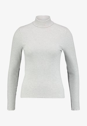 NECK LONG SLEEVE - Pullover - grey/white