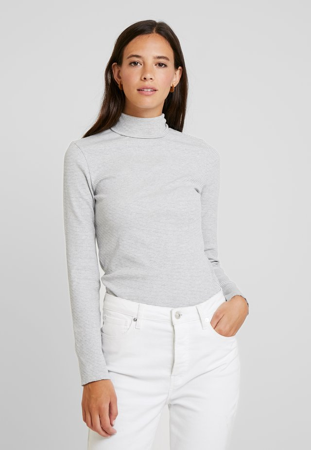 NECK LONG SLEEVE - Jumper - grey/white