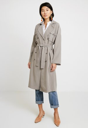 POCKET DETAIL - Trench - light grey