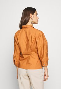 YAS Petite - YASBIRCH SHIRT ICONS - Button-down blouse - hazel - 2