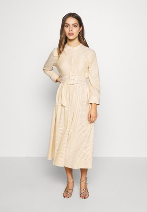 YASEMBER SHIRT DRESS PETITE - Shirt dress - golden rod/star white