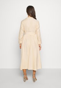 YAS Petite - YASEMBER SHIRT DRESS PETITE - Shirt dress - golden rod/star white