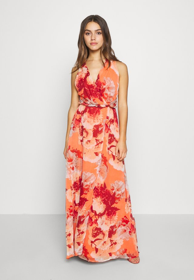 YASROSETTA MAXI DRESS - Occasion wear - nasturtium