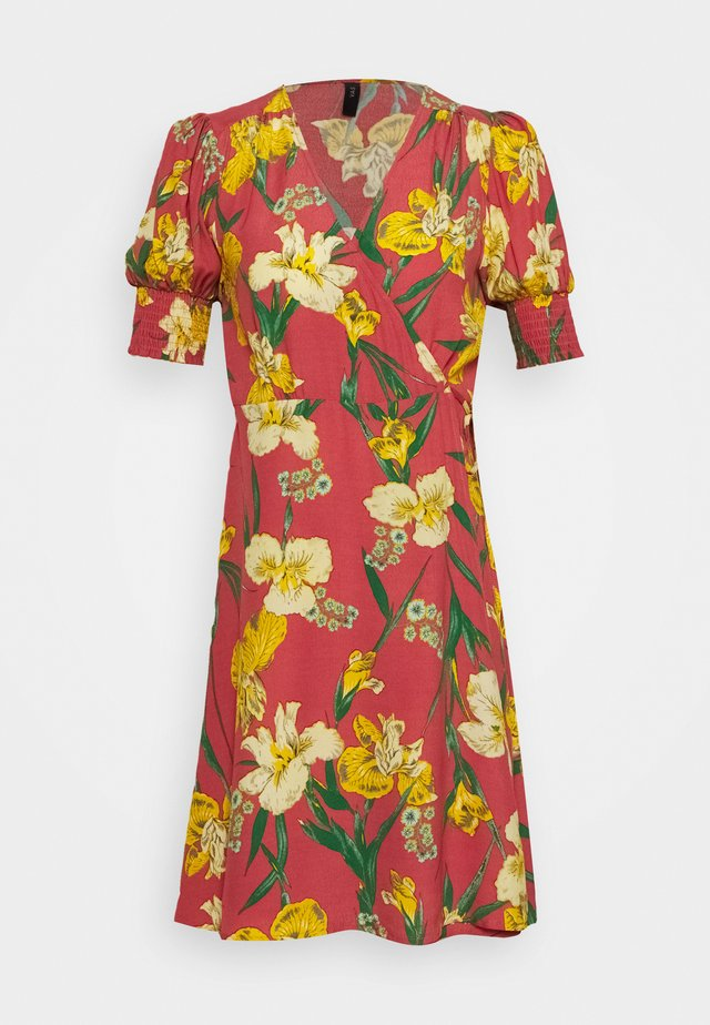 YASTROPICANA WRAP DRESS  - Day dress - canyon rose