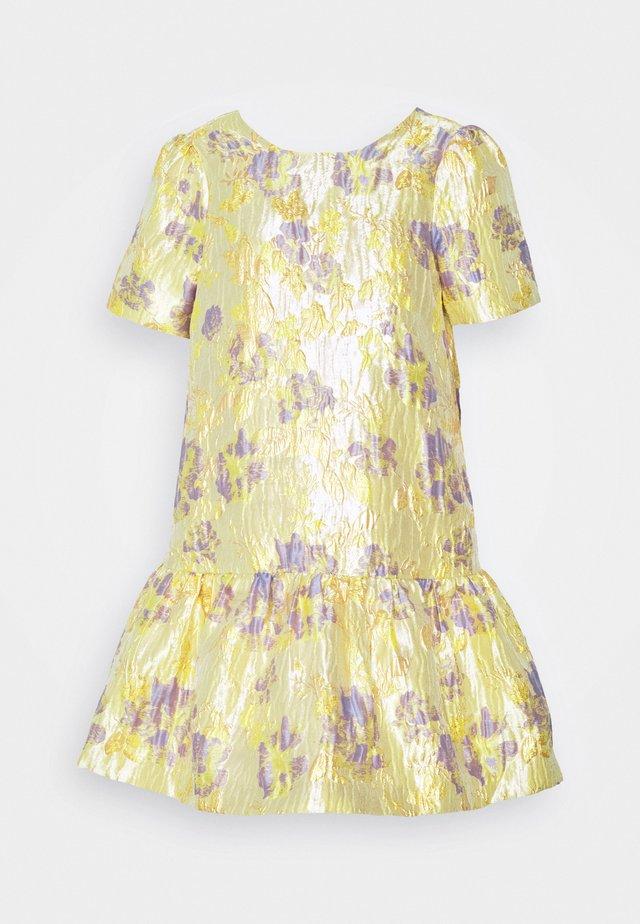 YASJAPANA DRESS - Denní šaty - yellow
