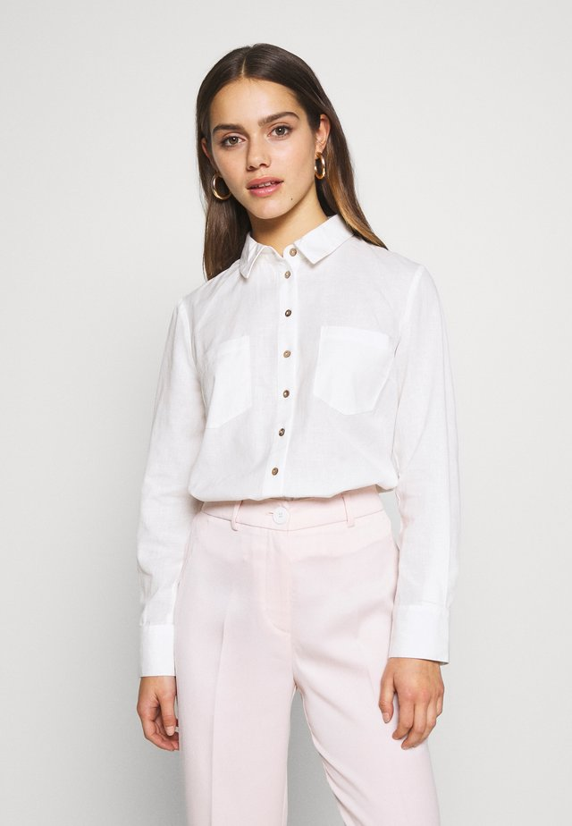 YASZIKKI  - Button-down blouse - star white