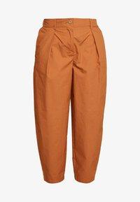 YAS Petite - YASBIRCH CROPPED PANT - Trousers - hazel - 4