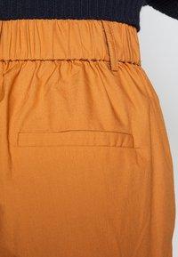 YAS Petite - YASBIRCH CROPPED PANT - Trousers - hazel - 5