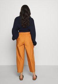 YAS Petite - YASBIRCH CROPPED PANT - Trousers - hazel - 2