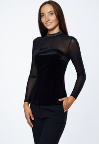 Young Couture by Barbara Schwarzer - Blouse - schwarz - 0