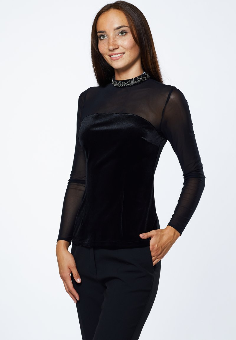 Young Couture by Barbara Schwarzer - Blouse - schwarz