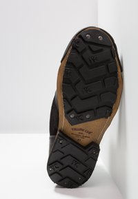 Yellow Cab - INDUSTRIAL - Šněrovací kotníkové boty - black - 4