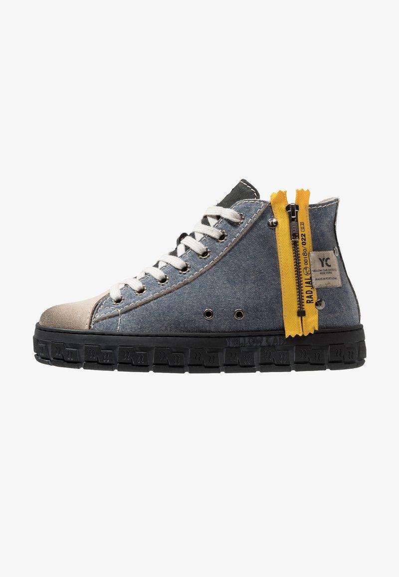 Yellow Cab - CHECK - Zapatillas altas - blue