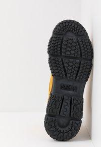 Yellow Cab - DAKOTA - Šněrovací kotníkové boty - yellow - 4