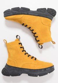 Yellow Cab - DAKOTA - Šněrovací kotníkové boty - yellow - 1