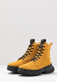 Yellow Cab - DAKOTA - Šněrovací kotníkové boty - yellow - 2