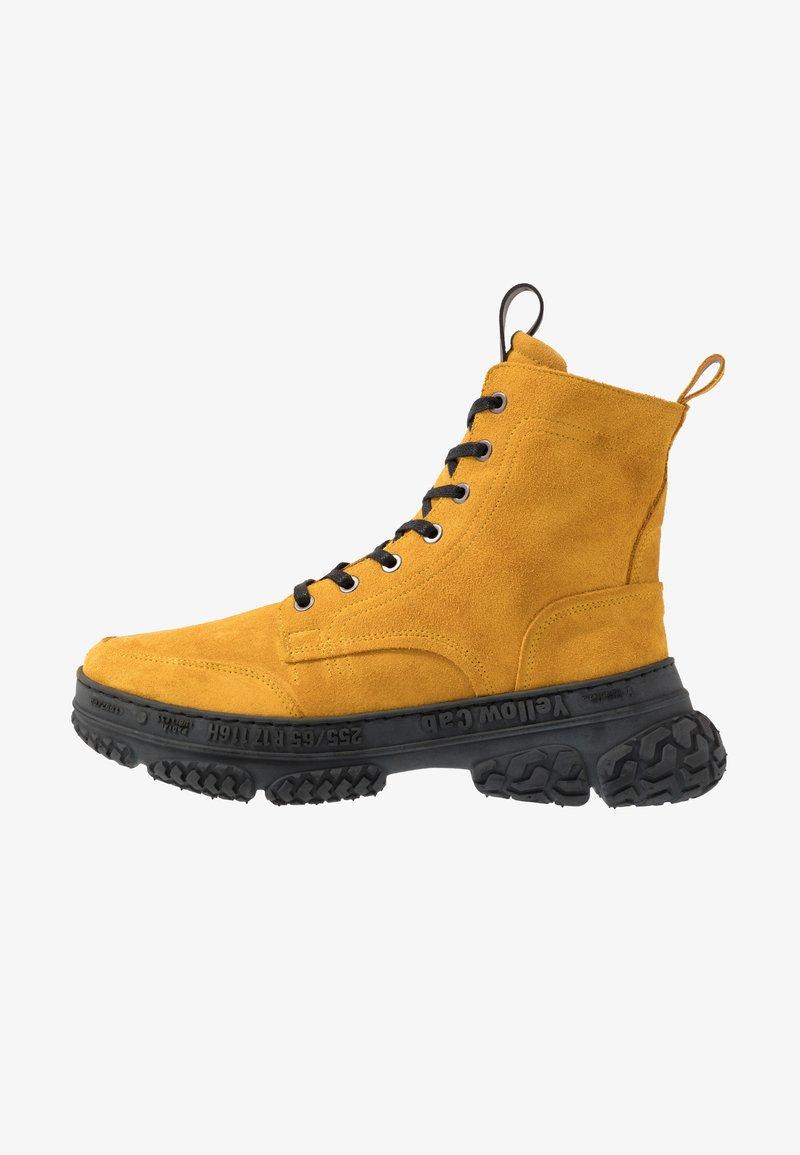 Yellow Cab - DAKOTA - Šněrovací kotníkové boty - yellow