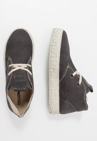 Yellow Cab - CHECK - Chaussures à lacets - black - 1