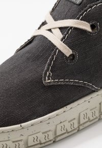 Yellow Cab - CHECK - Chaussures à lacets - black - 5