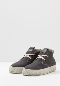 Yellow Cab - CHECK - Chaussures à lacets - black - 2
