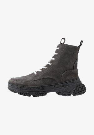 DAKOTA - Šněrovací kotníkové boty - grey