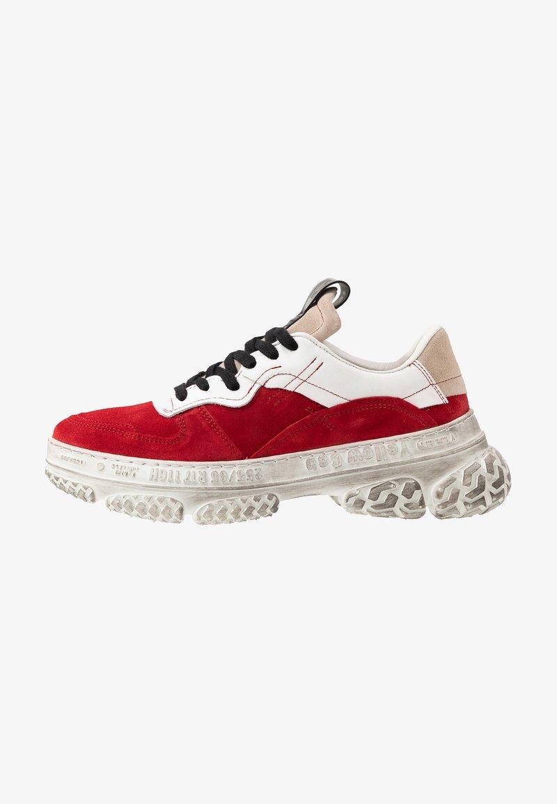 Yellow Cab - DAKOTA - Sneakersy niskie - red/white