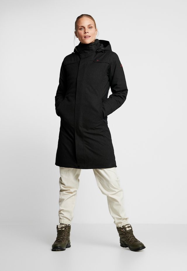 TANA ELEGANT INSULATED COAT - Piumino - black