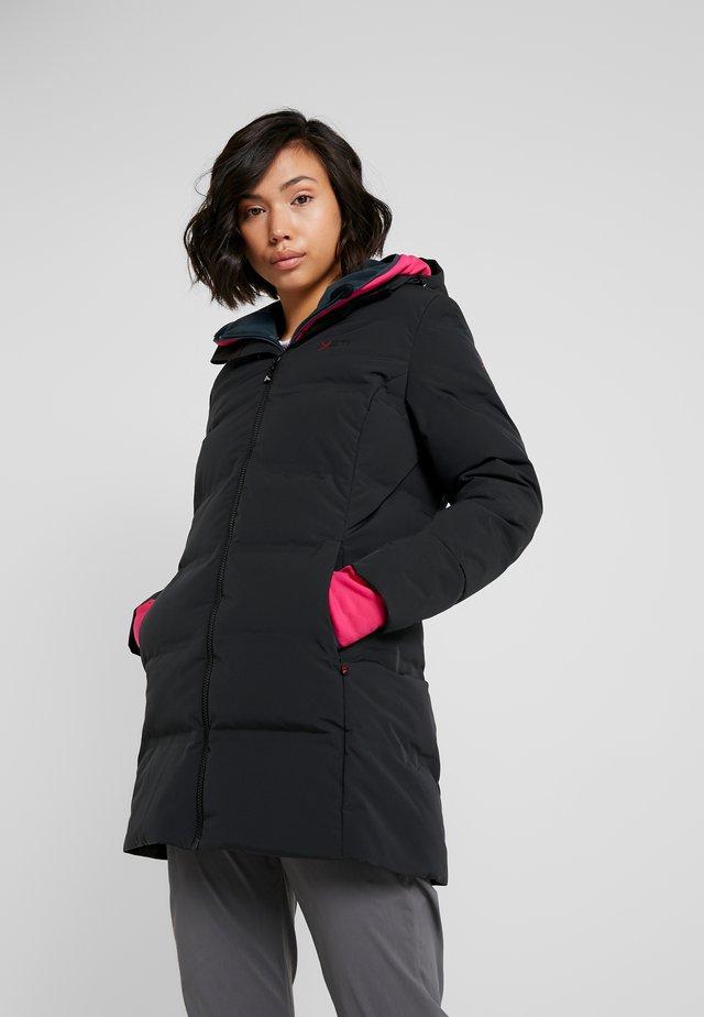 AUKEA BONDED COAT - Down coat - black